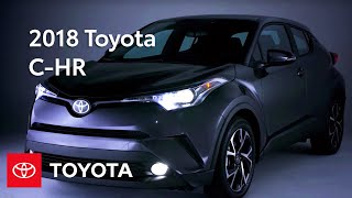 The first-ever 2018 Toyota C-HR Watch to learn about the newest add...