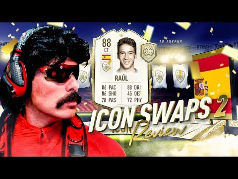 THE BEST VALUE ICON SWAPS?! 88 ICON SWAPS RAUL PLAYER REVIEW! FIFA 20 Ultimate Team