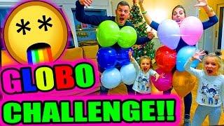 GLOBO CHALLENGE!!!    ·VLOG·