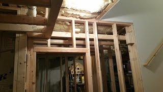 4. Finishing Basement - Framing pt. 2