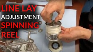 Accurate Spinning Reels - Line Lay Adjustment
