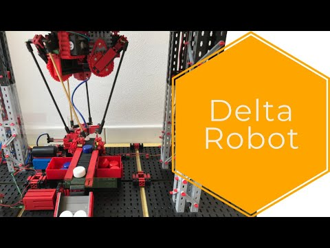 Delta Robot (Arduino + Fischertechnik) #2: Pick And Place Robot