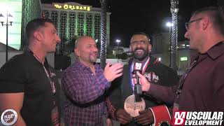 The People's Champion Hadi Choopan Interview!   2019 Mr. Olympia
