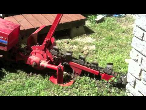 Gravely Powered Trencher