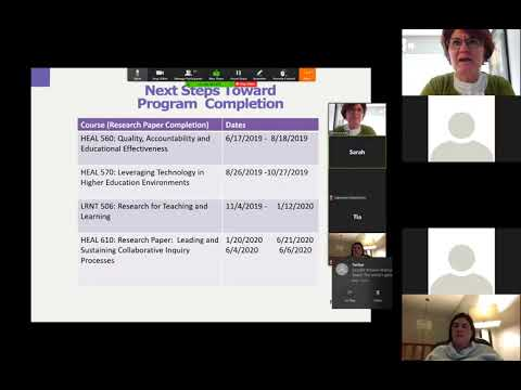 2017 MAHEAL Cohort Elive Session: Next Steps and Writing Tutorial