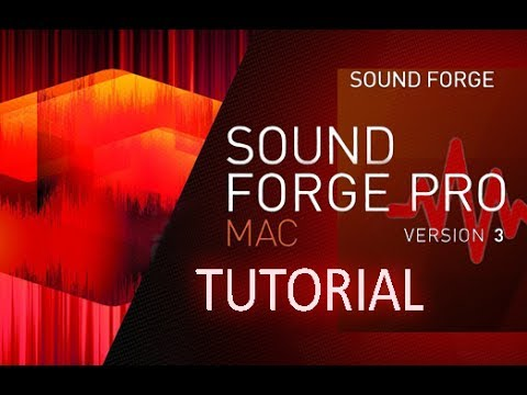 SOUND FORGE Pro Mac 3 - Full Tutorial for Beginners [+General Overview!]*