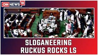 Sloganeering Ruckus Rocks LS On Day 2 Of Winter Session   CNN News18