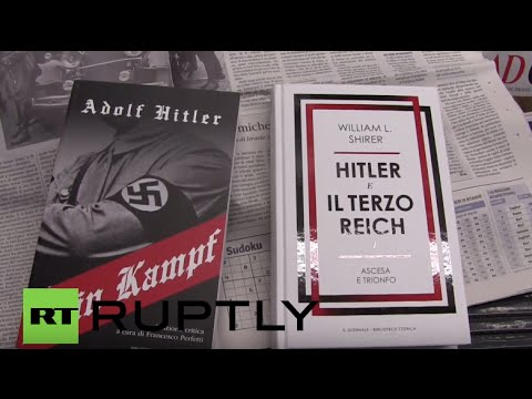 Italy: Il Giornale newspaper distributes Hitler's Mein Kampf