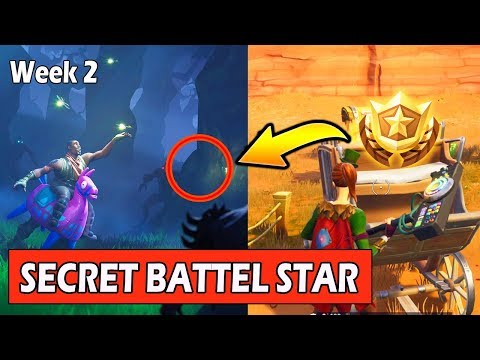 SECRET WEEK 2 BATTLE STAR LOCATION (LOADING SCREEN) FORTNITE WEEK 2 SECRET BANNER (SEASON 6)
