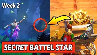 SECRET WEEK 2 BATTLE STAR LOCATION (ÉCRAN DE CHARGEMENT) FORTNITE SEMAINE 2 SECRET BANNER (SAISON 6)