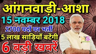 Anganwadi/Asha Latest News Today 2018   Worker Vetan/Salary Hindi  आंगनवाड़ी आशा वेतन लेटेस्ट न्यूज़