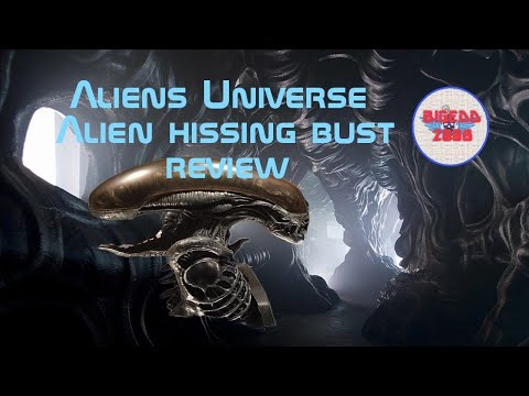 aliens-universe-:-hissing-xenomorph-bust-review