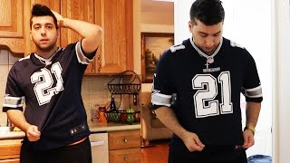 WORST DAY OF MY LIFE.....WEARING ANOTHER TEAMS JERSEY GONE WRONG!!