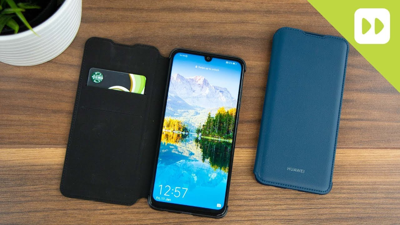 brand new 60fad d28d1 Official Huawei P Smart 2019 Wallet Cover Review