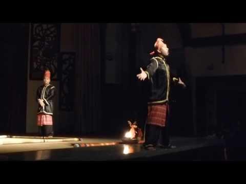 Sarawak cultural village's show 4
