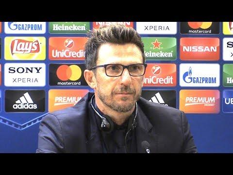 Roma 4-2 Liverpool (Agg 6-7) - Eusebio Di Francesco Post Match Press Conference - Champions League