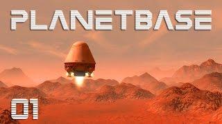 Planetbase #01 - Notlandung [Gameplay German Deutsch] [Let's Play]