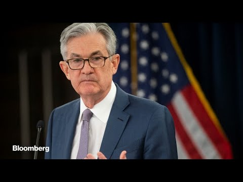 Powell Says Fed to Act 'Forcefully' to Support U.S. Recovery
