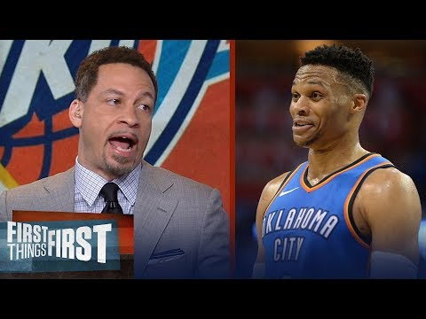 Chris Broussard on Russell Westbrook's 45-PT night in Thunder's win over Jazz | FIRST THINGS FIRST
