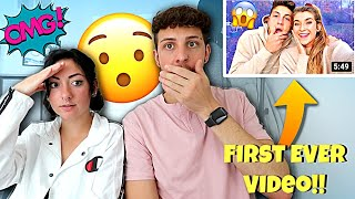 Reacting To Jatie Vlogs FIRST EVER VIDEO *Funny Reaction*