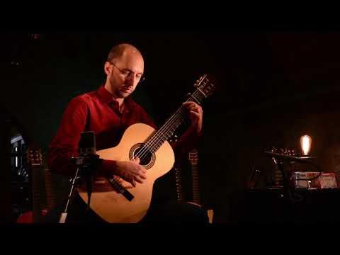 The Storm (Flamenco Guitar) Fernando Perez playing Antonio Ruben guitars and G7 capos.