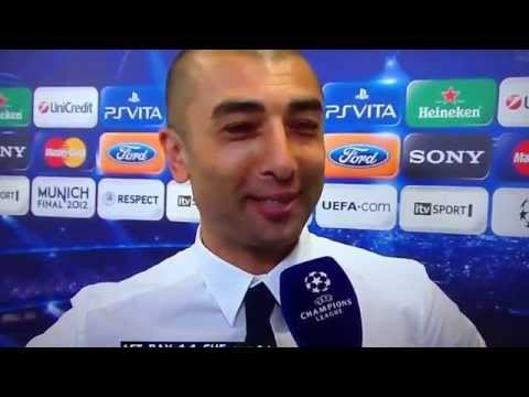 Roberto Di Matteo interview after Champions League Win