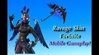 Ravage Skin Fortnite (Mobile Gameplay)