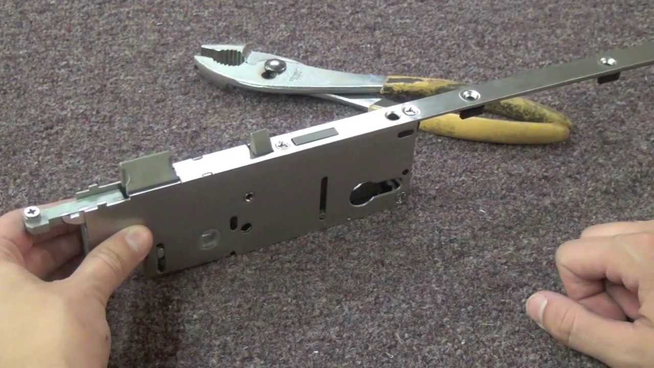 How To Rehand A Hoppe Multipoint Lock Youtube