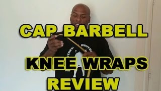 Cap barbell knee wraps Lawless review