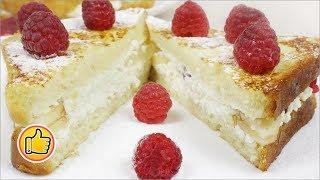 Быстрый Вкусный Завтрак, Французские Гренки | French Toast, Delicious Quick Breakfast