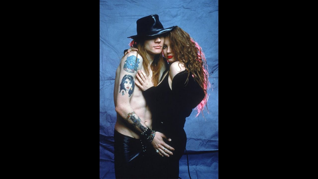 Axl Rose Erin Everly You Make Me So Hot Part Ii Youtube