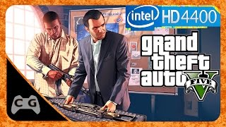 GTA 5 PC Gameplay Intel HD Graphics