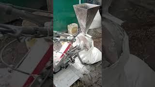 Зернодробилка на базе мотоблока упрощённый вариант