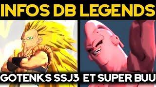 DB LEGENDS - Gotenks SSJ3 et Super Buu arrivent !