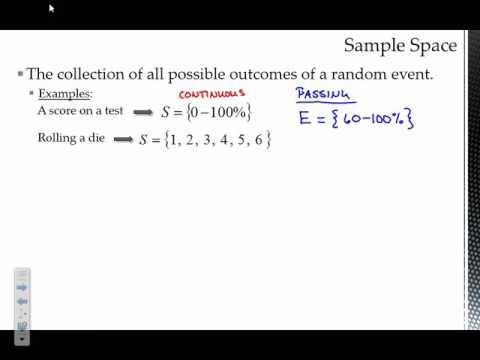 Probability Models & Basics of Probability Notes