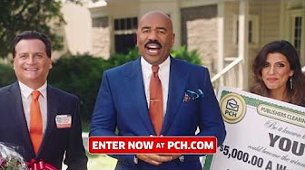 Steve Harvey & PCH: Win $5,000 a Week For Life Sweepstakes - YouTube