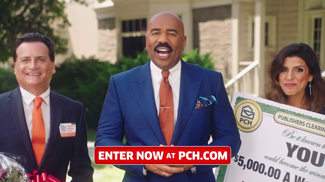 Booked And Busy  Steve Harvey Joins Publishers Clearing House