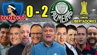 Todas as narrações - Colo-Colo 0 x 2 Palmeiras / Libertadores 2018