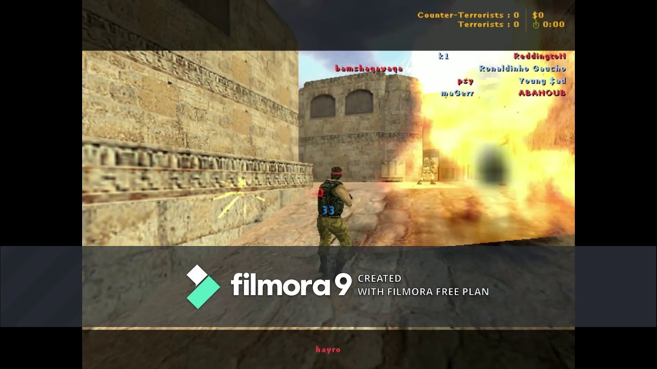 playing counter strike 1.6 highlights #184727