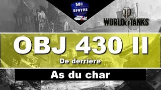 World of tanks / As du char Obj 430 II  De derrière #50