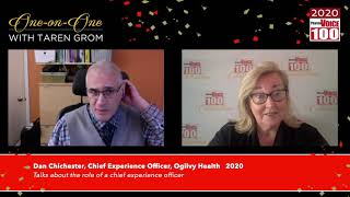 Dan Chichester, Ogilvy Health – 2020 PharmaVOICE 100 Celebration