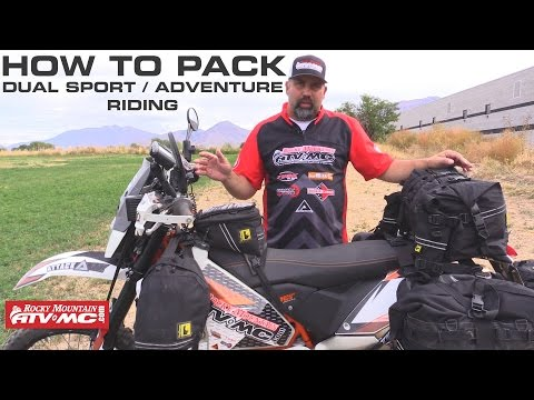 How To Pack For Your Next ADV/Dual Sport Ride