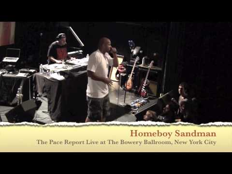 """The Pace Report: """"The Emcee's Breeding Ground"""" The Homeboy Sandman Interview"""