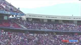 Buffalo Bills Fan Falls From 300 level Captured on Video
