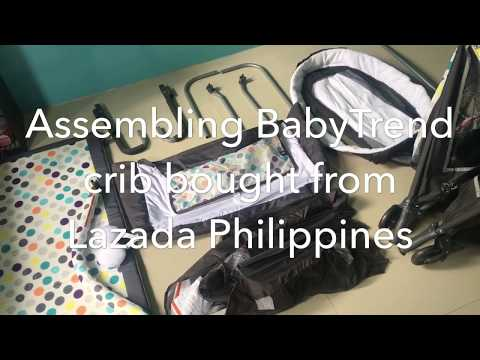 Assembling BabyTrend Baby Crib Bought From Lazada Philippines