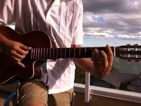 Whiter Shade Of Pale Acoustic Guitar Tutorial Youtube