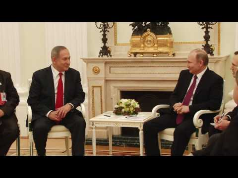 PM Netanyahu meets with Russian President Putin