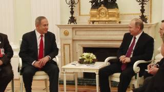 PM Netanyahu meets with Russian President Putin