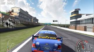 V8 Supercars 3 - Toca DTM Race Driver 3 - PC Gameplay - Online Race - Video Clips