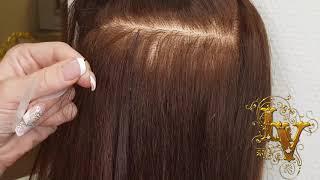 Итальянское (горячее) наращивание волос, видеоурок